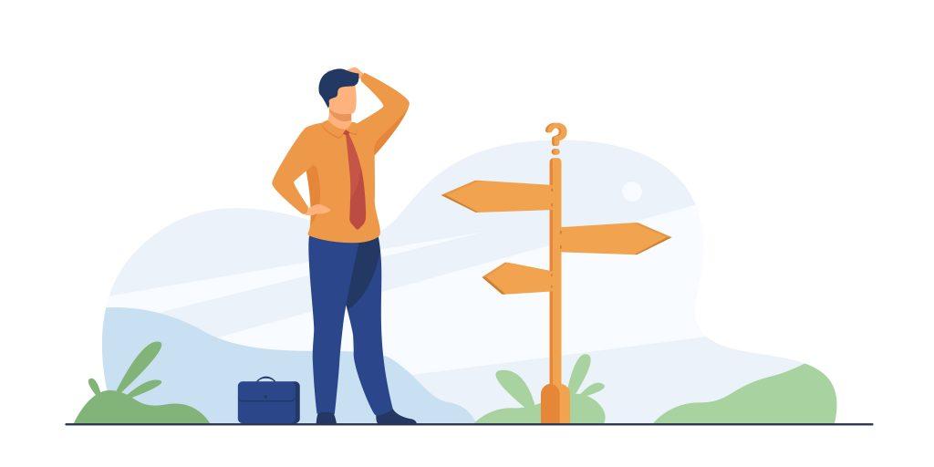 انتخاب مسیر در ایده پردازی